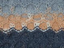 Tissu tricoté multicolore photos libres de droits