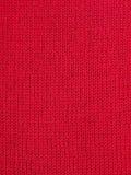 Tissu tricoté rouge Images libres de droits