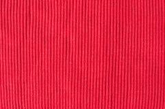Tissu tricoté rouge Image libre de droits
