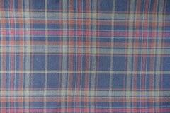 Tissu vérifié dans des couleurs tranquilles Photographie stock