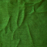 Tissu vert Images libres de droits