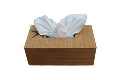A tissue box Royalty Free Stock Image