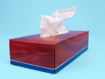 Tissue box Stock Photography