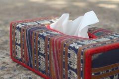 Tissue box Elephant is the symbol of Thailand. Royalty Free Stock Image
