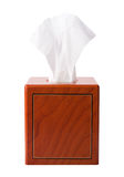 Tissue Box isolated Stock Photo