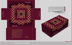 Free Tissue Box Template Concept Series Royalty Free Stock Photo - 110865565