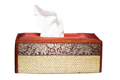 Tissue Box Thai style Royalty Free Stock Photos