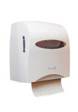 tissue box on the wall in the bathroom Royalty Free Stock Photos