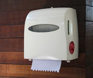 Tissue box on the wall Royalty Free Stock Photography