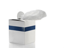 Tissue box. Royalty Free Stock Image