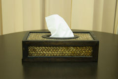 Tissue boxes Stock Photography