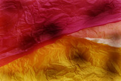 Tissue Paper Background. Colorful tissue paper abstract background Stock Photo