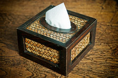 Tissue paper box Royalty Free Stock Photography