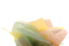 Tissue paper for gift bag Royalty Free Stock Photography