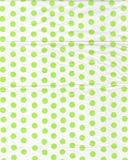 Tissue Paper Green Dots Background Texture Royalty Free Stock Photography
