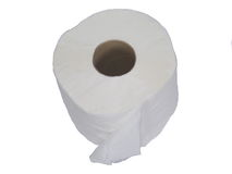 Tissue paper roll Royalty Free Stock Photo
