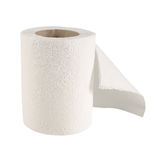 Tissue paper roll Royalty Free Stock Images