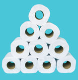 Tissue paper rolls Royalty Free Stock Image