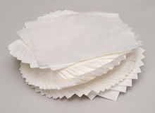 TISSUE PAPER. On white background Royalty Free Stock Images