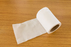 Tissue roll Stock Photo