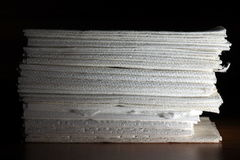 Tissue stacked Stock Photography