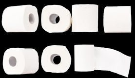 Tissue or toilet paper roll Royalty Free Stock Images