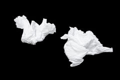 Tissues used royalty free stock images