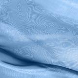 Tissus bleus avec le moiré Images stock