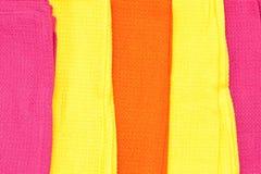 Tissus colorés Photographie stock libre de droits
