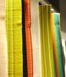 Tissus de couleur images libres de droits