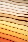 Tissus de couleurs en pastel Image libre de droits