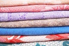 Tissus de textile Photo libre de droits