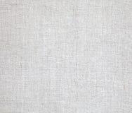 Tissus de toile dans le blanc Image stock