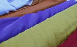 Tissus destinés à la couture Photographie stock libre de droits