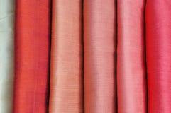 tissus en soie photographie stock libre de droits