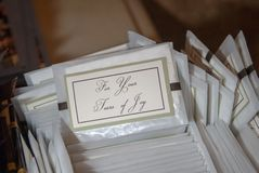 Tissus nuptiales, décorant, épousant des détails image libre de droits
