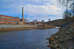 tista saugbrugs реки печной трубы Стоковое Изображение RF