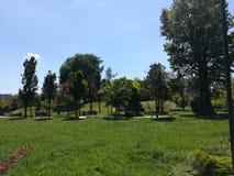 Titán de Parcul en BucureÈ™ti foto de archivo libre de regalías