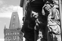 Titán de Praga Imagenes de archivo