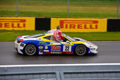 Titan Ferrari parading at Montreal Grand prix Stock Image