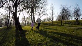 Titan Park Bucharest Romania stock footage