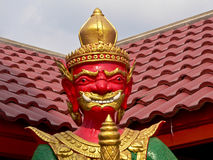 Titan. Is a sign of giant who make a safety of the Buddhist religion. We can see it in an important temple Royalty Free Stock Photos