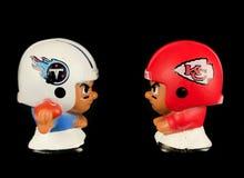 Titani v il ` l compagni di squadra Toy Figures di Li dei capi Immagini Stock