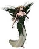 Titania - Shakespeares Fairy Queen. Digital render of Titania, Queen of the Fairies, from Shakespeare's A Midsummer Night's Dream Stock Photography