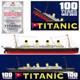 Titanic 100 Years Anniversary Royalty Free Stock Photos