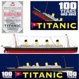 Titanic 100 Years Anniversary Royalty Free Stock Photos