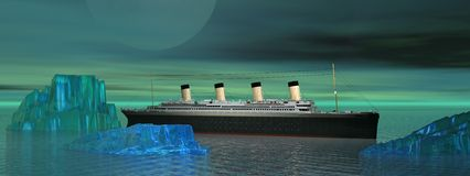 Titanic Royalty Free Stock Photography