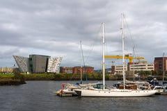 Titanic Belfast stock photography