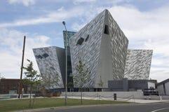 Titanic Belfast. The Titanic Belfast building in Belfast, Northern Ireland Royalty Free Stock Images