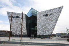 Titanic Belfast building Royalty Free Stock Photos